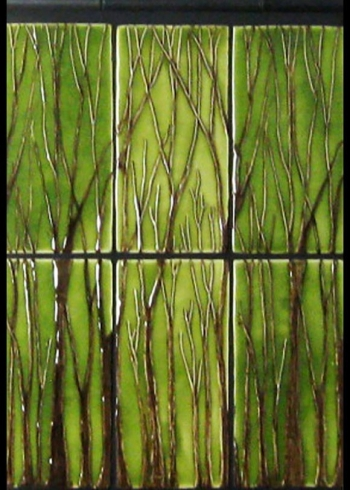 "<h5>Florette</h5><p>""Florette"" 4x8 hand-painted tress with Meadow #310 background.</p>"