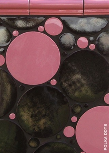 "<h5>Polka Dots</h5><p>""Polka Dots"" Circles from 1"" to 6"" in Treasure #215 and Pink.</p>"