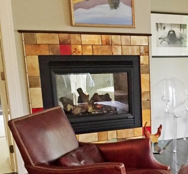 <h5>Poppy Fireplace</h5>