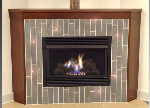 "<h5>Eye Candy Fireplace</h5><p>Eye Candy ""Cascade"" with authentic Swarovski Crystals in Lofte #115.</p>"