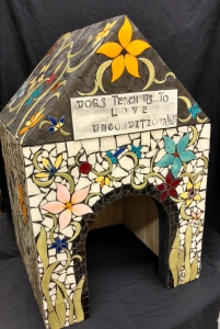 Mosaic Dog House